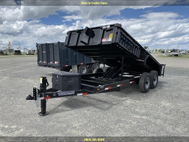 2019 Titan 14'  Dump Trailer in Ashburn, VA