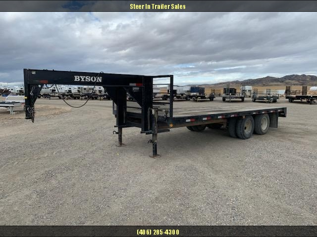 2004 BYSON 20' Flatbed Trailer in Circle, AK