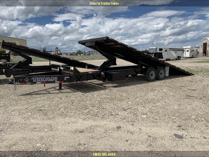 2019 Titan 29' (25+5) Deckover Tilt Trailer in Ashburn, VA