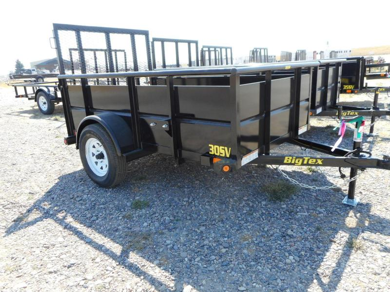2017 Big Tex 30SV-08BK Utility Trailer | Steer In Trailer Sales ...