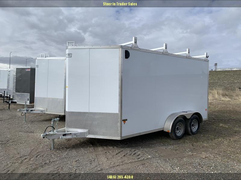 2019 EZ Hauler 7X14 Ultimate Contractor Enclosed Cargo Trailer