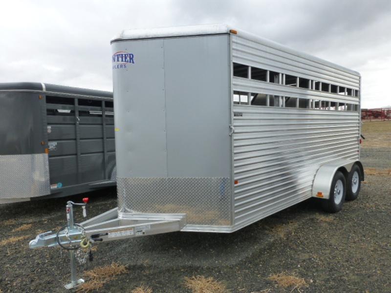 2015 Frontier 3H Aluminum Horse Trailer