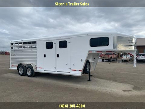 2020 Trails West 21' Santa Fe Stock/Combo Trailer
