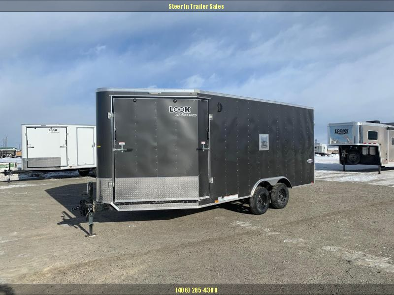 2020 Look 8.5X21' Snowmobile Trailer in Ashburn, VA