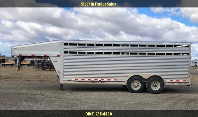 2004 Featherlite 20' Stock Trailer