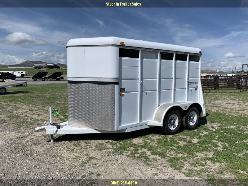 1999 Logan Coach 2H WRANGLER Horse Trailer