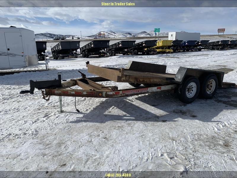 2001 Towmaster 16' Tilt Equipment Trailer in Ashburn, VA