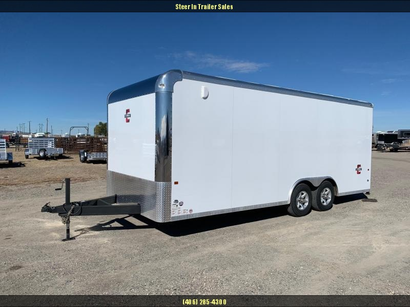 2018 Charmac 8X20' Legend Enclosed Trailer