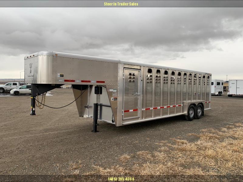 2019 Wilson 24' Ranch Hand Livestock Trailer