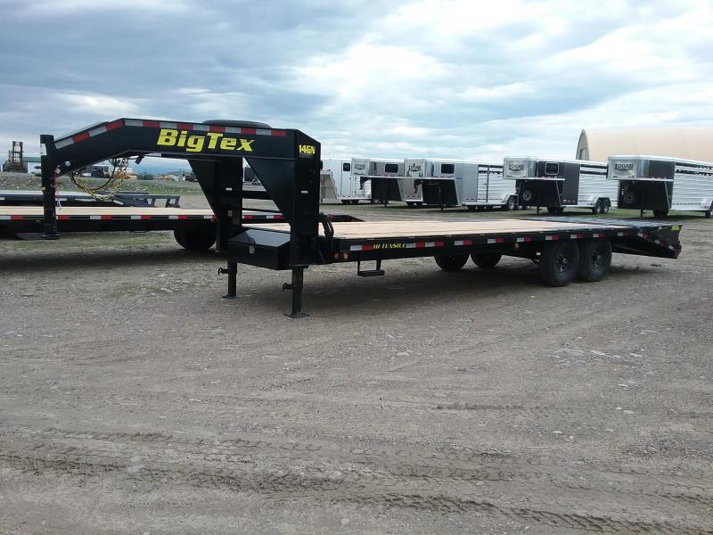 2019 Big Tex Trailers 25' 14GN w/ Mega Ramps