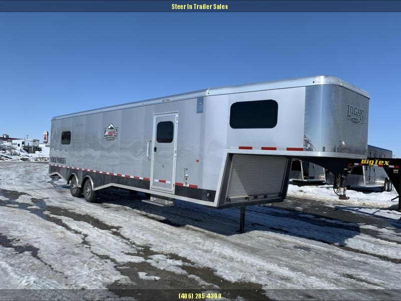 DEMO - 2019 Logan Coach 31' Horsepower Zbroz Edition Snowmobile Trailer