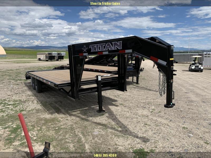 2019 Titan 24' (20+4) Flatbed Trailer in Ashburn, VA