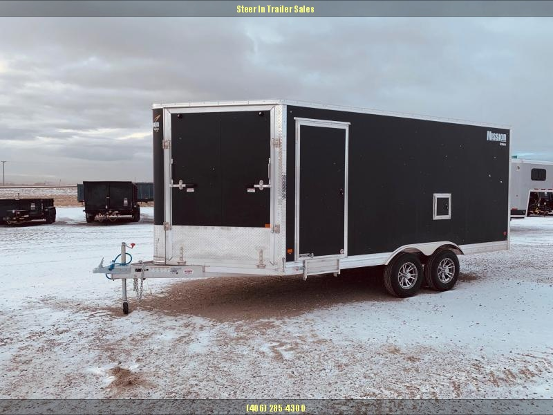 2019 Mission 8.5X16 All Sport Snowmobile Trailer in Ashburn, VA