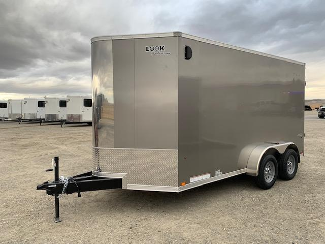 2019 Look 7X14 Enclosed Cargo Trailer