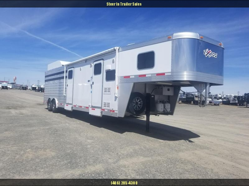 2015 Exiss 830L Stock Combo Horse Trailer