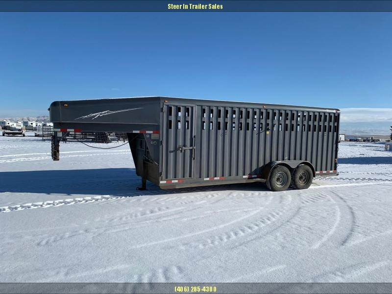 2004 Trailman 20' Stock Trailer