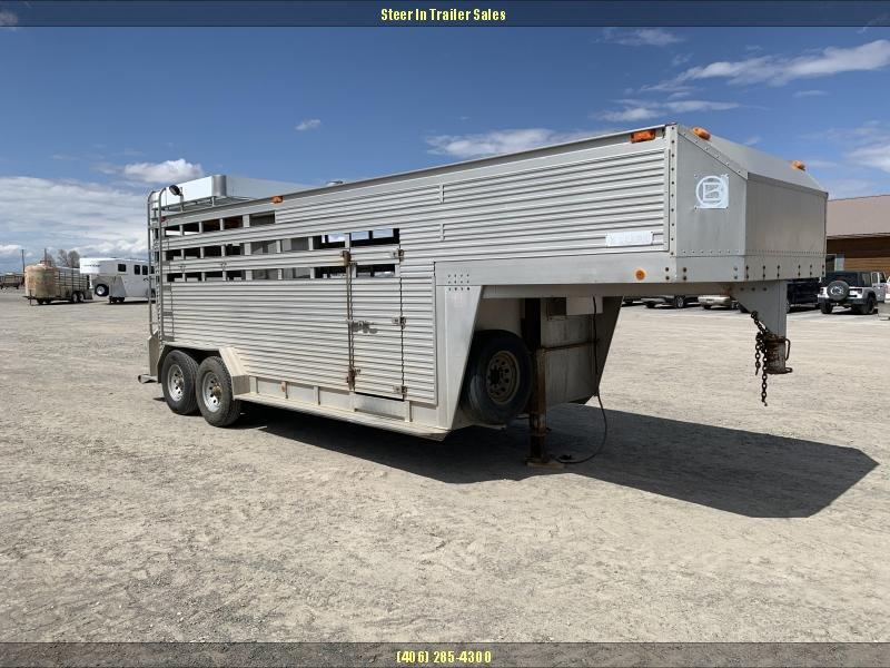 1989 Barrett Trailers STOCK TRAILER Livestock Trailer in Ashburn, VA