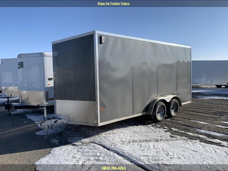 """2019 EZ Hauler 7'6""""X16 Enclosed Cargo Trailer"""