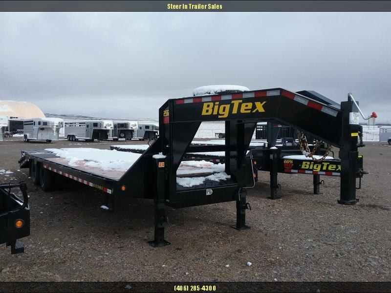 2019 Big Tex 25GN 30' (25+5) Flatbed Trailer in Chitina, AK