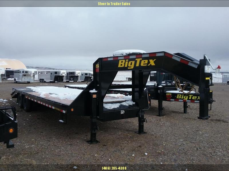 2019 Big Tex 25GN 30' (25+5) Flatbed Trailer