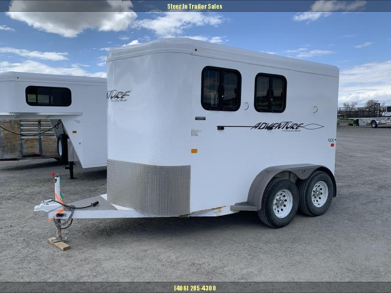 2012 Trails West Manufacturing 2H ADVENTURE MX II Horse Trailer