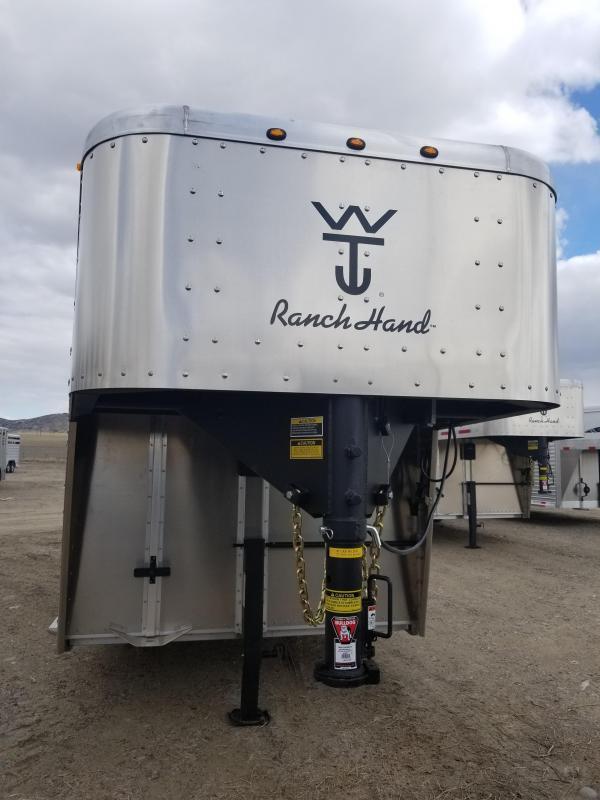 2019 wilson 20 ranch hand livestock trailer steer in trailer rh steerin com Small Livestock Trailers Horse Trailer