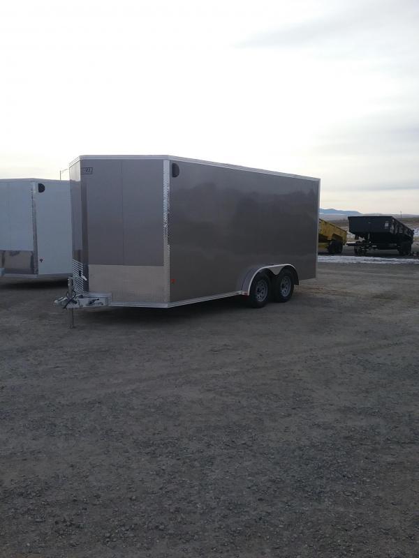 2019 EZ Hauler 7.5 X 16 Enclosed Cargo Trailer