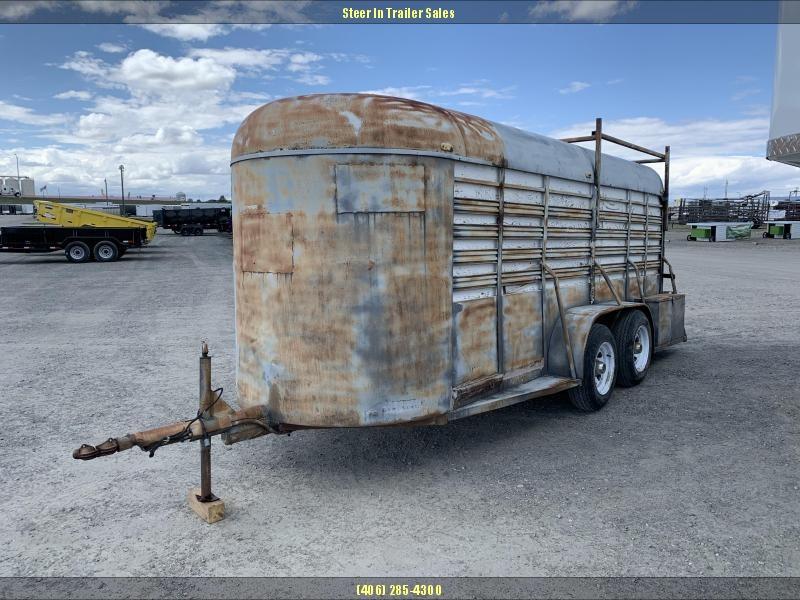 1973 Hale Trailers 16 STOCK Livestock Trailer in Ashburn, VA