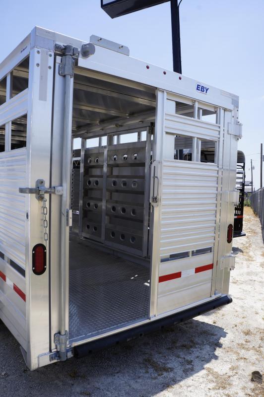 2019 Eby Trailers 20' Maverick Livestock Trailer