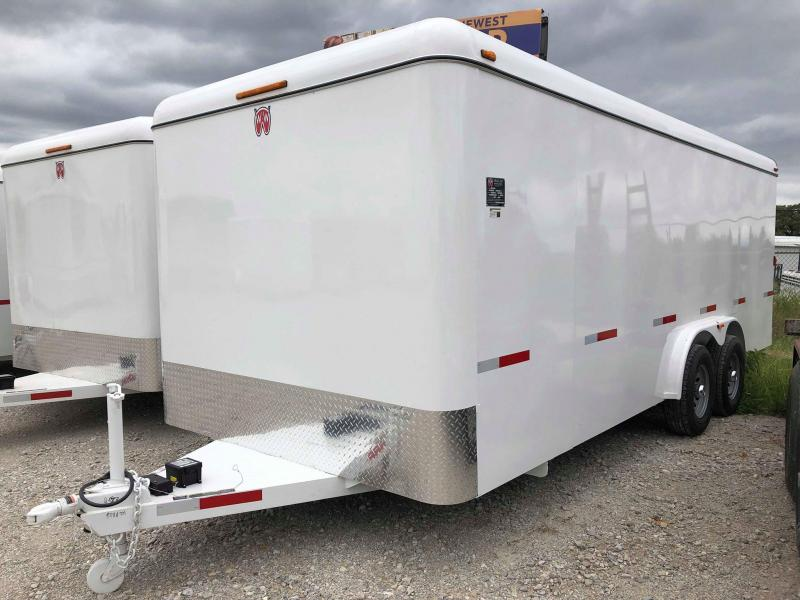 2019 W-W Trailer 20'x8' Enclosed Cargo Carrier Trailer
