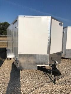 2019 Continental Cargo 7'x16' V-Series Enclosed Cargo Trailer