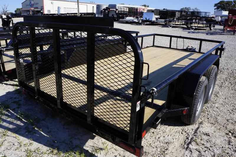 2019 East Texas 77X14 Utility 7K Trailer