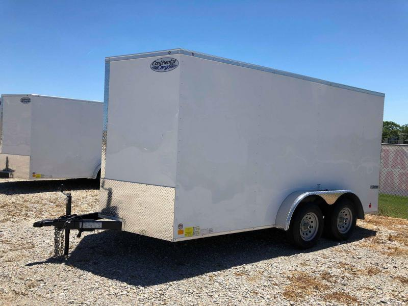 2020 Continental Cargo 14'X7' V-Series Enclosed Cargo Trailer
