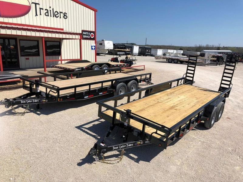 "2020 East Texas 83""X20' Utility 14K Trailer"