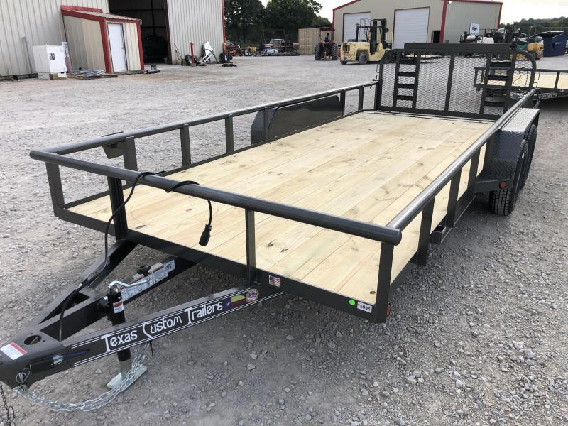 2019 East Texas 83X18 Utility 7K Trailer