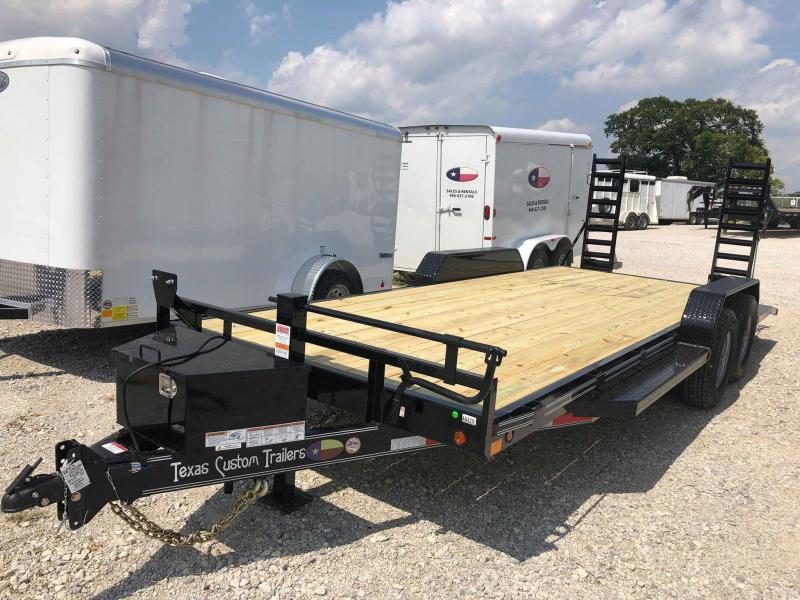 "2019 East Texas 83""x20' 14K Car Hauler/ Equipment Trailer in Ashburn, VA"