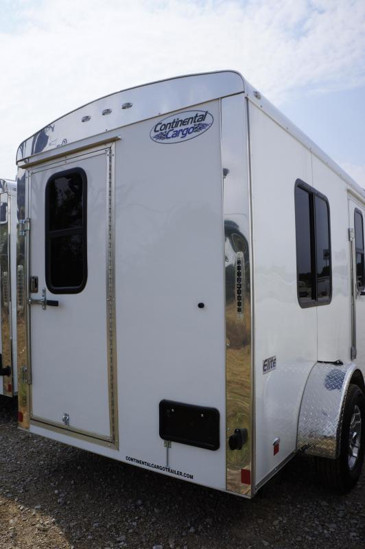 2018 Continental Cargo 6'x10' Gaurd Shack Enclosed Cargo Trailer