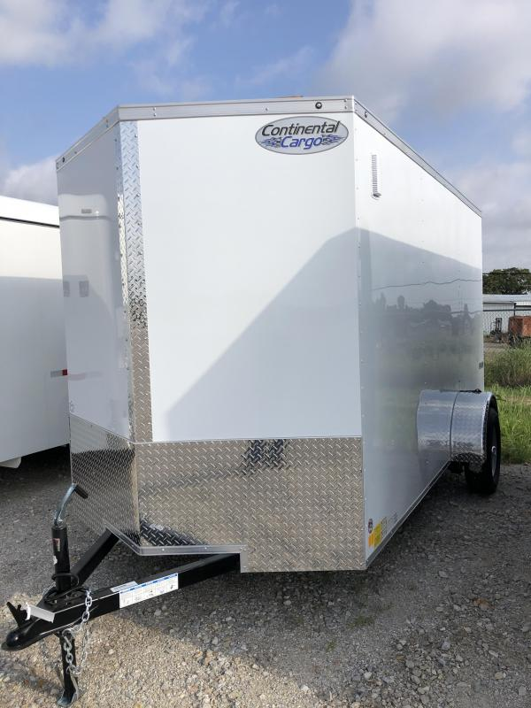 2020 Continental Cargo 6X12 Cargo Mate Enclosed Cargo Trailer