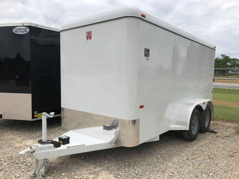 2019 W-W Trailer 14'x6' Enclosed Cargo Carrier Trailer
