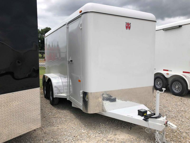 2019 W-W Trailer 14'x6' Enclosed Cargo Carrier Trailer