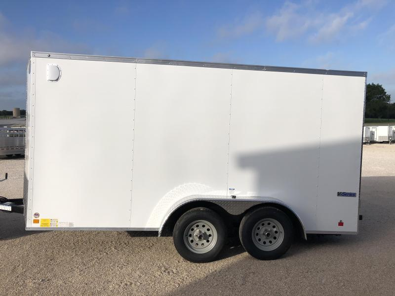 2019 Continental Cargo 7X14 Enclosed Cargo Trailer