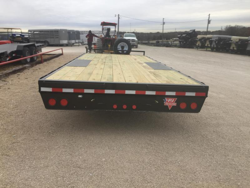 2019 PJ Trailers 20X8 I-Beam DO Utility Trailer