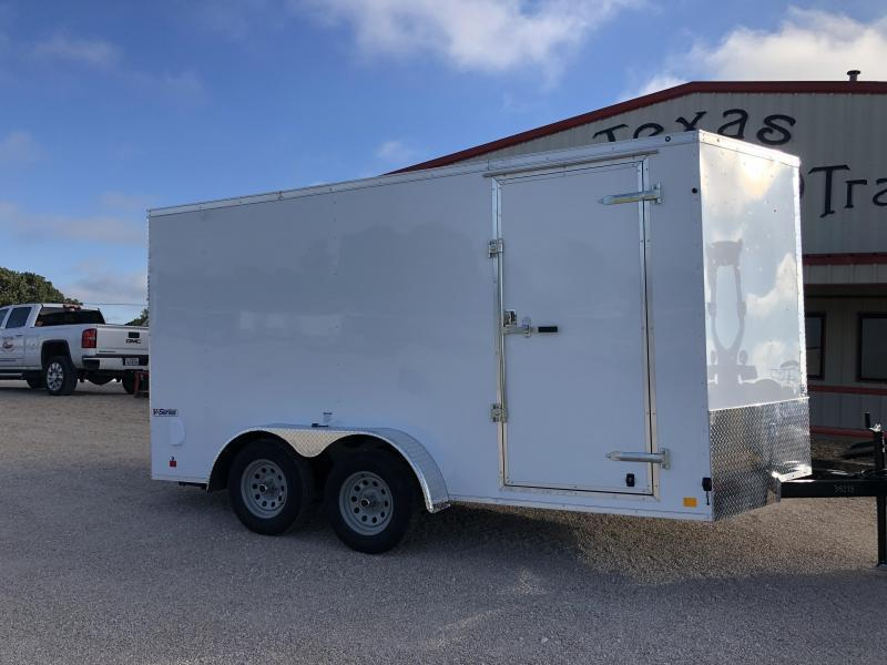 2019 Continental Cargo V-Series Enclosed Cargo Trailer