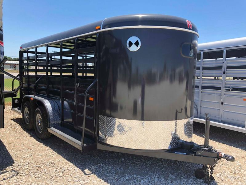 2019 W-W Trailer 16X6 All Around Livestock Trailer in Ashburn, VA
