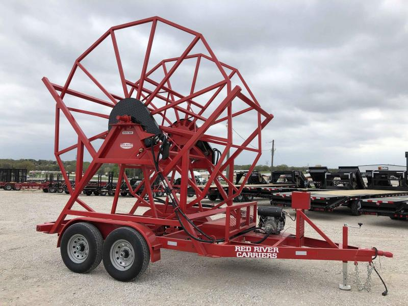 2019 Red River Carrier Big Spool Trailer