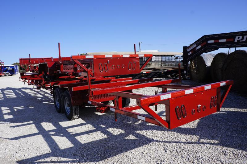 2019 East Texas 40' Poly Pipe Hauling Trailer