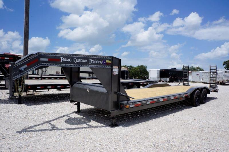 "2019 East Texas 102""x28' GN Lowboy 14K Equipment Trailer in Ashburn, VA"