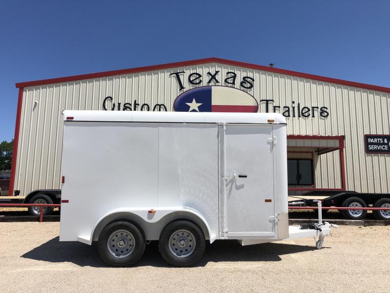 2019 W-W Trailer 6X12 Enclosed Cargo Trailer