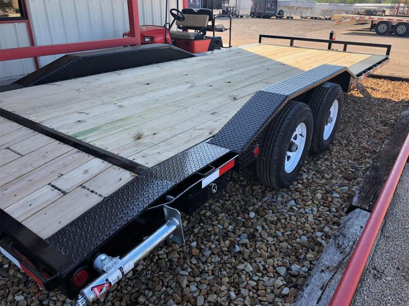 2019 PJ Trailers 20X5 Channel Buggy HaulerTrailer