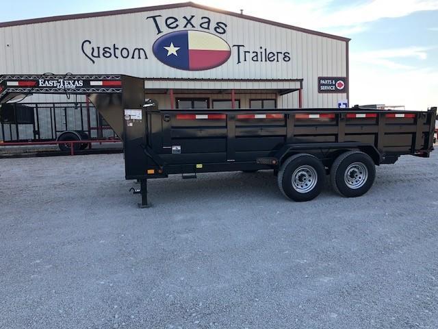 2019 East Texas 83X16 GN Dump Trailer